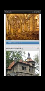 App mit Abbildungen